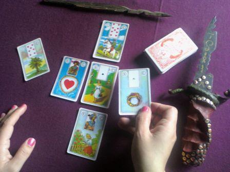 Kaip daznai galima burtis Lenormand kortomis